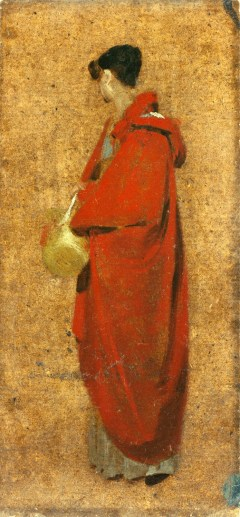 John Constable, A Girl in a Red Cloak (Mary Constable), 1809 - Copyright: Private Collection.