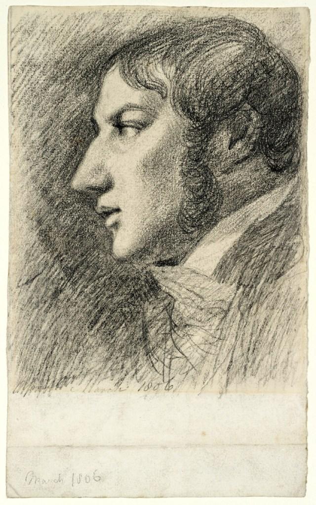 John Constable, Autoritratto, Marzo 1806 - Copyright: Tate, London 2009.