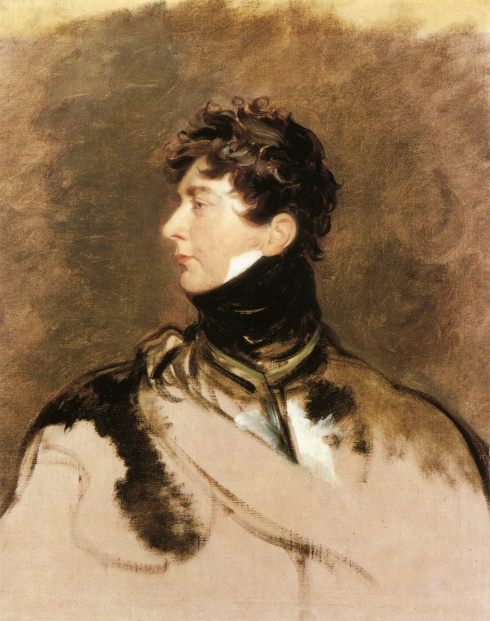 King George IV by Sir Thomas Lawrence, c. 1814. London, National Portrait Gallery