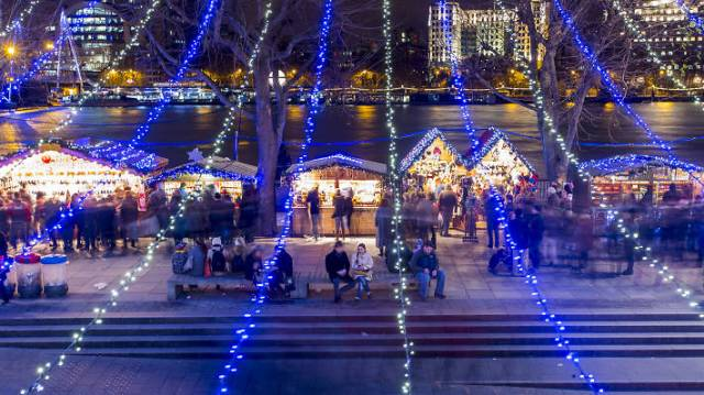 Southbank Centre Christmas Market © Jason Alden