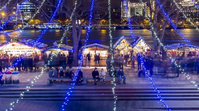 Southbank Centre Christmas Market © Jason Alden