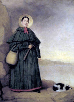Mary Anning, 1842. Natural History Museum, London