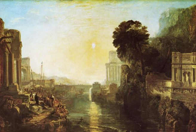 Turner's Dido building Carthage