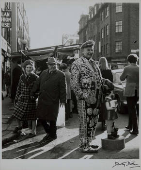 Petticoat Lane Market, East End, London 1960s by Dorothy Bohm