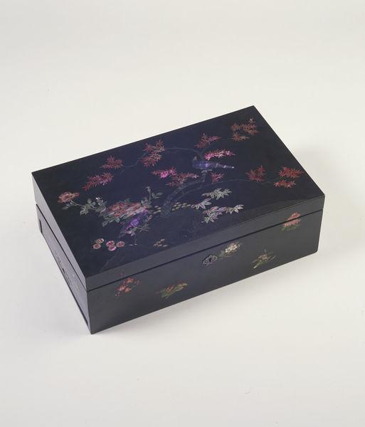 Writing box, Nagasaki 1800-1850 (made) Victoria and Albert Museum