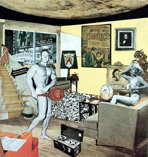 Just what is it that makes today's homes so different, so appealing (1956) Richard Hamilton.