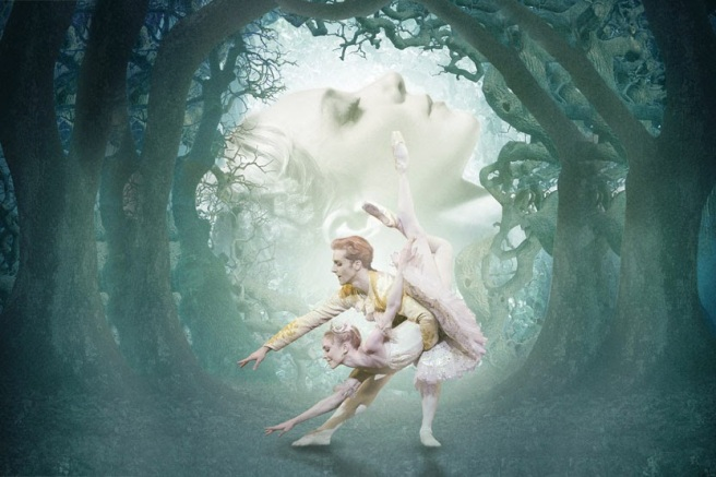 Steven McRae and Sarah Lamb in Sleeping Beauty