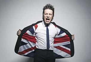 Jamie Oliver backs Britain. Photograph: VisitBritain