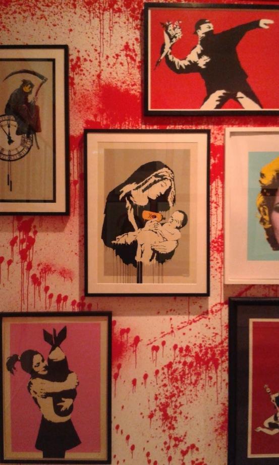 Banksy, Sotheby's. London, 2014 © Paola Cacciari