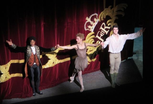 Carlos Acosta, Zenaida Yanowsky e Roberto Bolle. Manon, Royal Opera House. 2014 © Paola Cacciari