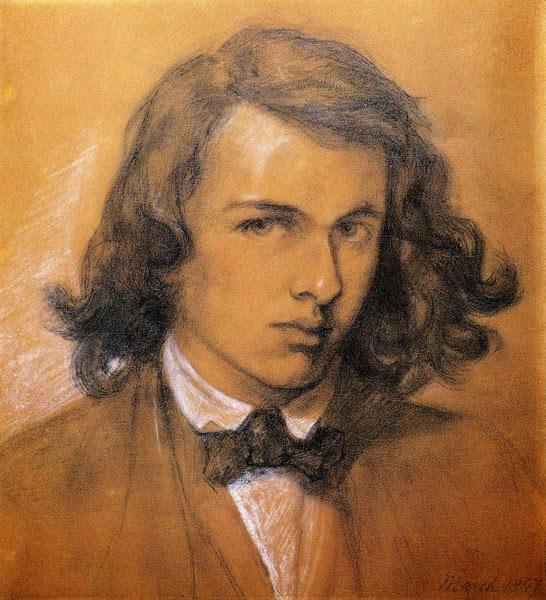 dante-gabriel-rossetti-self-portrait © National Portrait Gallery, London