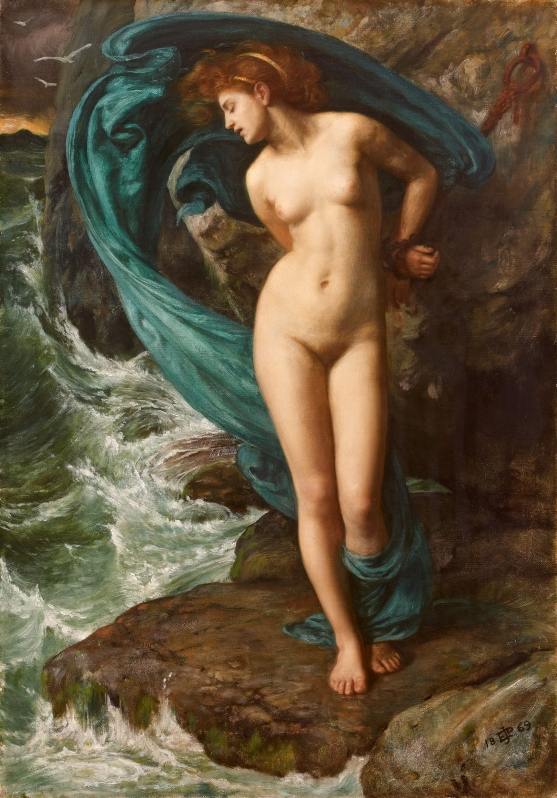 Edward John Poynter, Andromeda, 1869, Oil on canvas, The Pérez Simón collection, Mexico ©Studio Sébert Photographes
