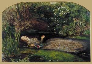 John Everett Millais, Ophelia 1851-2 Tate