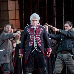Dmitri Hvorostovsky as Conte di Luna in Verdi's Il Trovatore at the Metropolitan