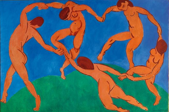 Henri Matisse - The Dance – 1910- olio su tela- 260 x 391 cm Museo di Stato dell'Ermitage, San Pietroburgo – courtesy of Photo Archives Matisse, Paris.