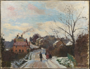 Fox Hill, Upper Norwood, Camille Pissarro 1870