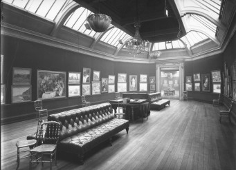 Photograph of the Grafton Gallery, London, 1905