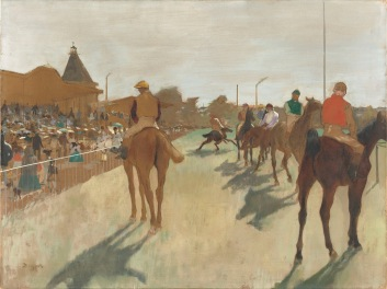 Horses before the Stands, 1866-8