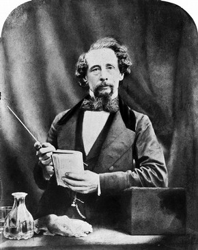 Charles Dickens, photograph by Herbert Watkins, 19th century ©Victoria and Albert Museum