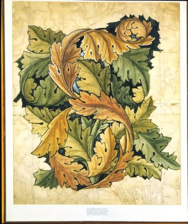 Acanthus' wallpaper 1874 © Victoria and Albert Museum