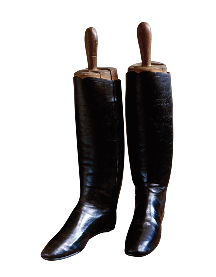 The Duke of Wellington's famous boots