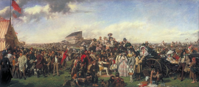 William Powell Frith, The Derby Day (1856–8) Tate