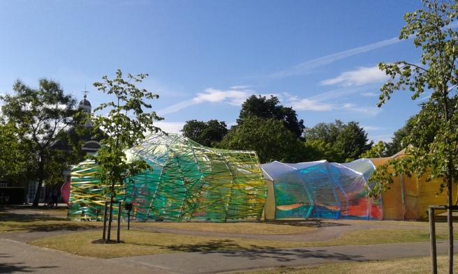SelgasCano, Serpentine Gallery Pavilion 2015, London © Paola Cacciari