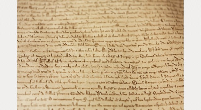 Magna Carta © Joseph Turpcourtesy of the British Library