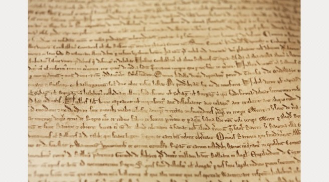 Magna Carta © Joseph Turpcourtesy of the British Library