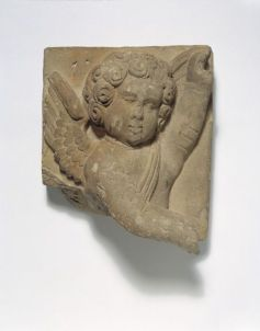 Fragment of terracotta decoration, figure of Cupid London, England, ca 1518-1522 (made) ©Victoria and Albert Museum