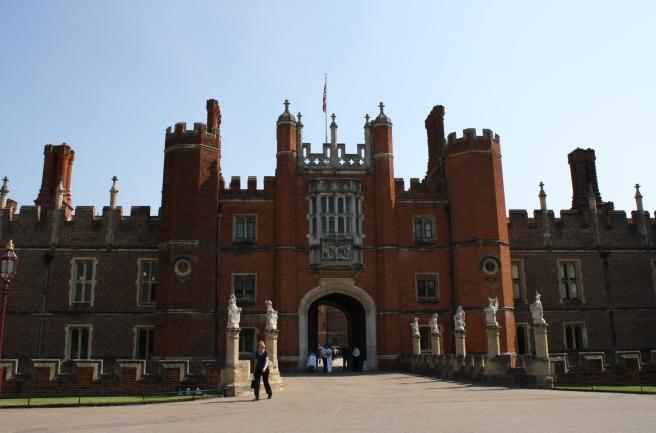 Hampton Court Tudor Facade by Paola Cacciari