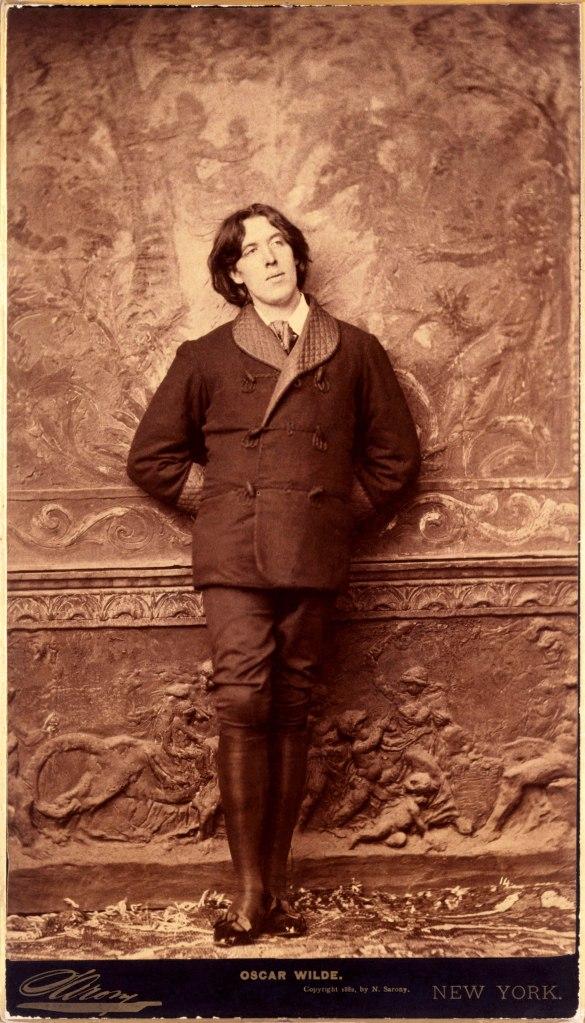 1.Napoleon Sarony – Oscar Wilde- 1882 - National Portrait Gallery, London