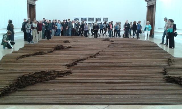 Ai Weiwei, Straight 2008-12. 2015 © Paola Cacciari