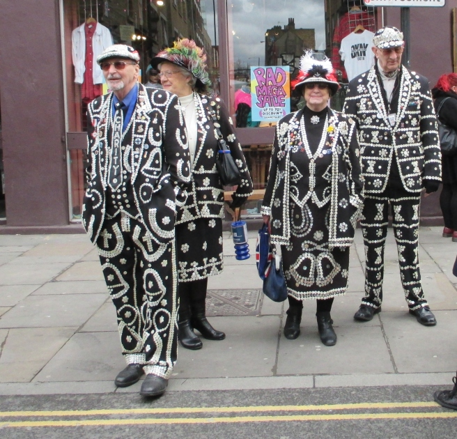 Pearly Kings and Queens. London. 2014 © Paola Cacciari