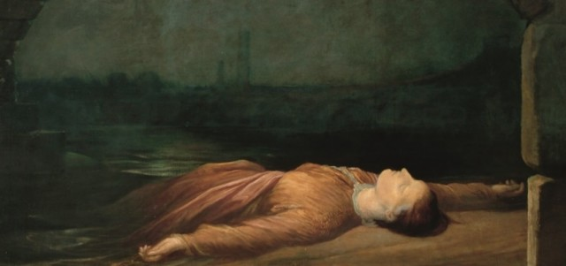 G F Watts, Found Drowned, c 1848-1850 © Watts Gallery