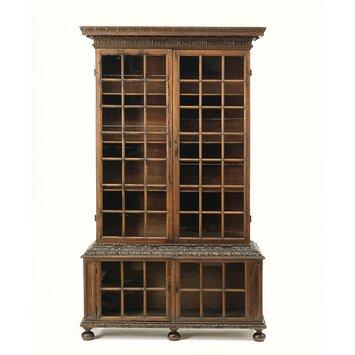 Bookcase London England circa 1695