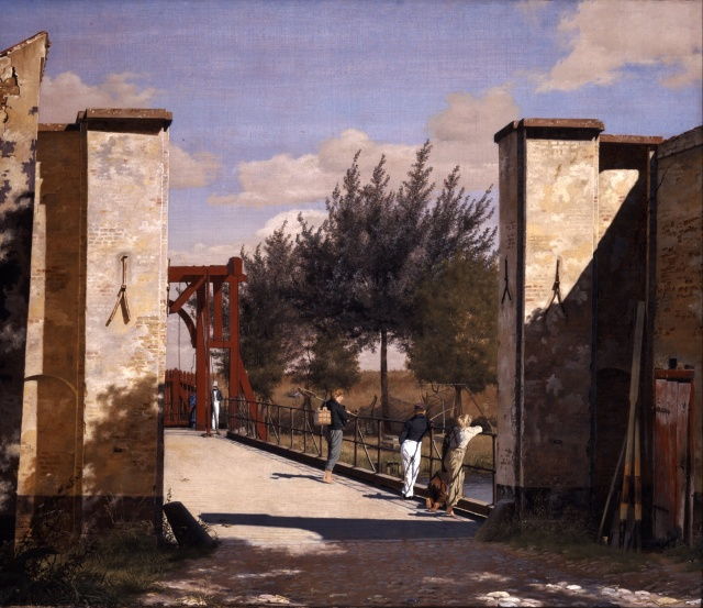 Christen Købke, The North Gate of the Citadel, 1834