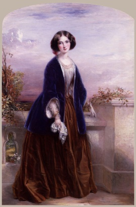 Effie Gray painted by Thomas Richmond.