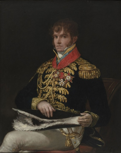 Francisco Goya, General Nicolas Philippe Guye 1810 © Virginia Museum of Fine Arts