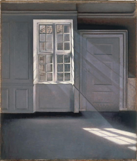 Vilhelm Hammershoi - Interno con donna al Piano, Strandgade 30, 1901 Private collection - Photo Maurice Aeschimann - Courtesy Royal Academy of Arts, London