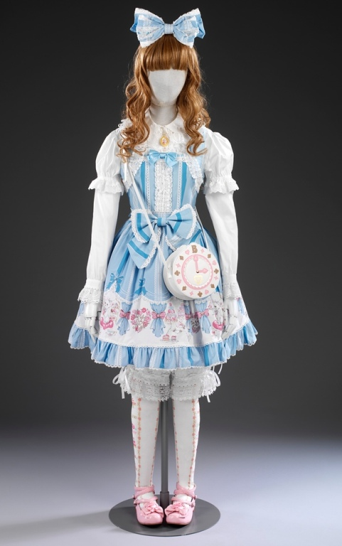 Sweet Lolita outfit, Japan, 21st century. Photograph: Victoria and Albert Museum, London