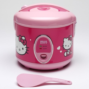 Hello Kitty rice steamer, Japan, 2014 Photograph: Victoria and Albert Museum, London