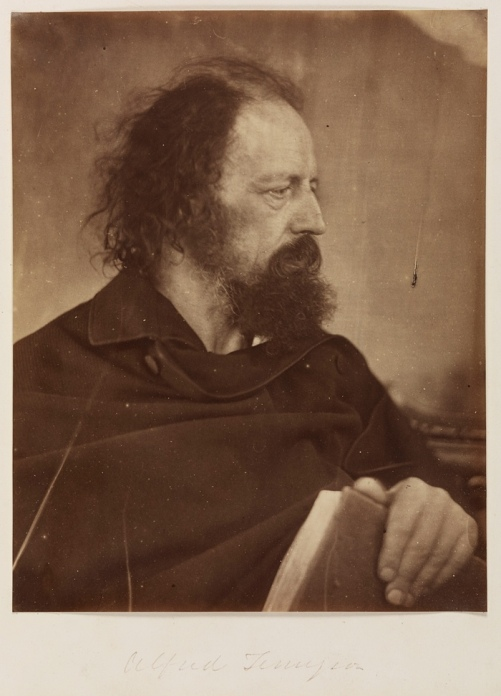 Alfred Tennyson with Book, May 1865. National Museum of Photography, Film & Television, Bradford
