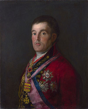 Francisco Goya Portrait of the Duke of Wellington