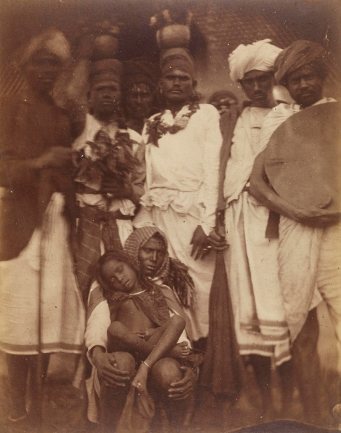 Group of Ceylonese Plantation Workers, c.1875-78