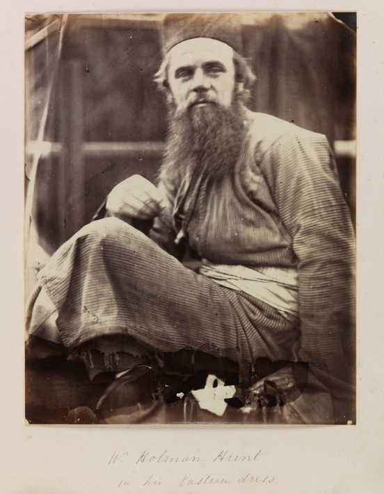 Holman Hunt in Eastern Dress, May 1864