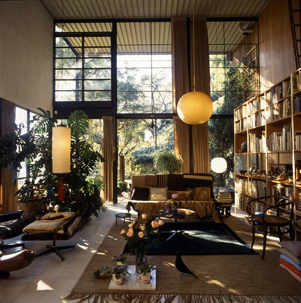 The living room of the house the Eameses built in Los Angeles in 1949 Photograph Timothy Street-PorterEames Office