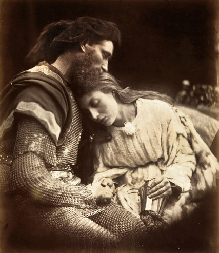 The Parting of Lancelot and Guinevere by Julia Margaret Cameron. Credit The Metropolitan Museum of Art