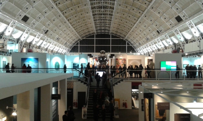 London Art fair 2016. By Paola Cacciari