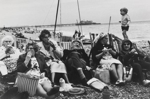 Brighton Beach, 1966, Tony Ray Jones © National Media Museum, Bradford